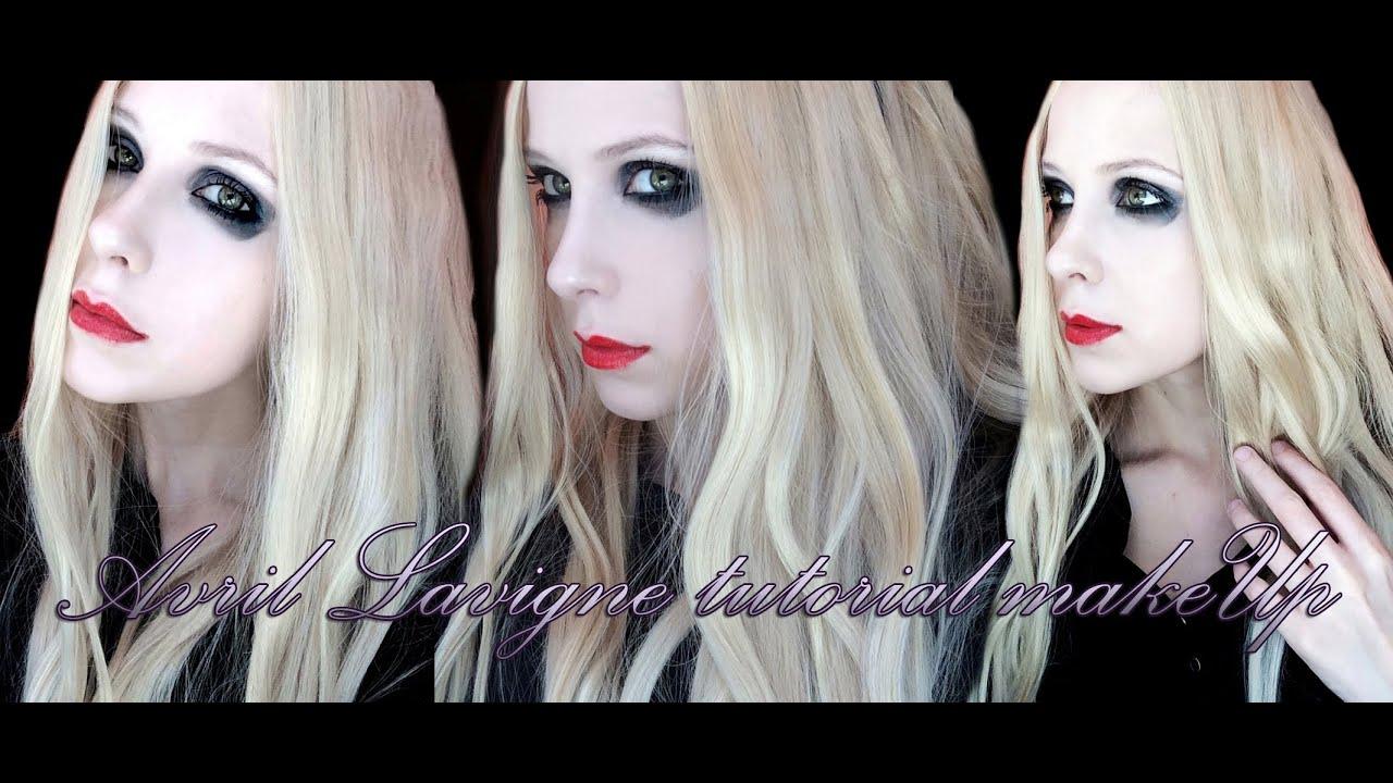 Avril Lavigne Tutorial Makeup The Tour Youtube