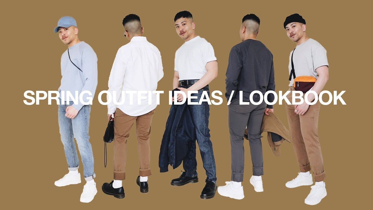 5 SPRING Outfits / Styling Color | SPRING LOOKBOOK 2