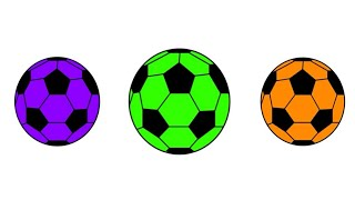 kids colors learning videos color balls