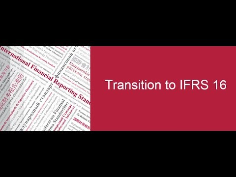 IFRS Foundation: Transition to IFRS 16