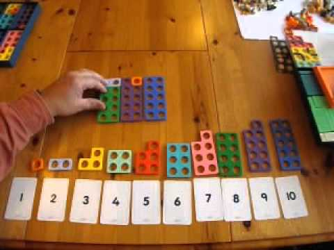 numicon to help with number bonds youtube. Black Bedroom Furniture Sets. Home Design Ideas