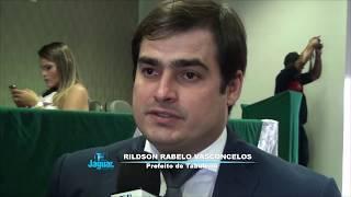 Prefeito Rildson afirma que obras do Governador é o presente maior dos aniversário do município