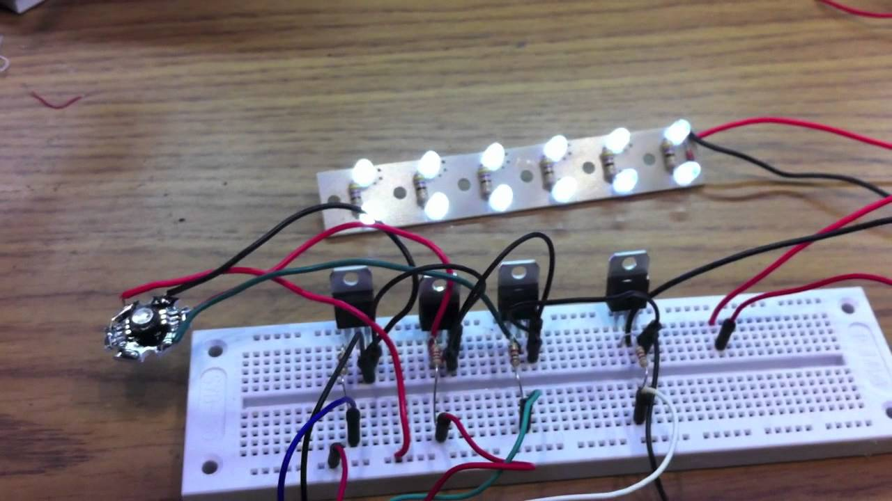 Controlling High Power Or A Number Of Leds With An Arduino Led Driver Wiring Diagram Youtube