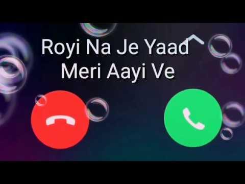 whatsapp status royi na jo je yaad meri Aayi ve - YouTube