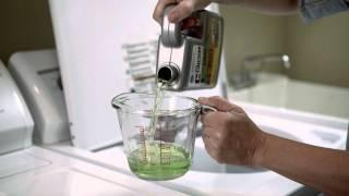 Cómo limpiar su lavadora de ropa con el removedor de herrumbre, calcio y cal CLR