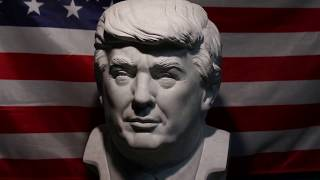 US national anthem & Donald Trump, 45th President of the United States