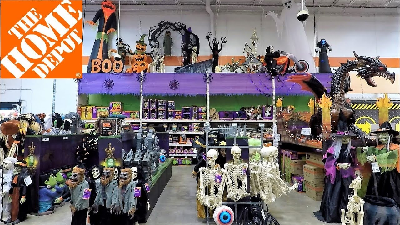 HALLOWEEN 2018 AT THE HOME DEPOT
