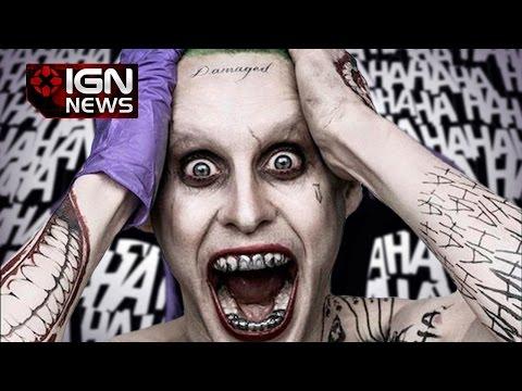 Jared Leto's Joker Officially Revealed - IGN News