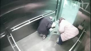 Top Shocking and Unforgettable elevator moments caught on camera