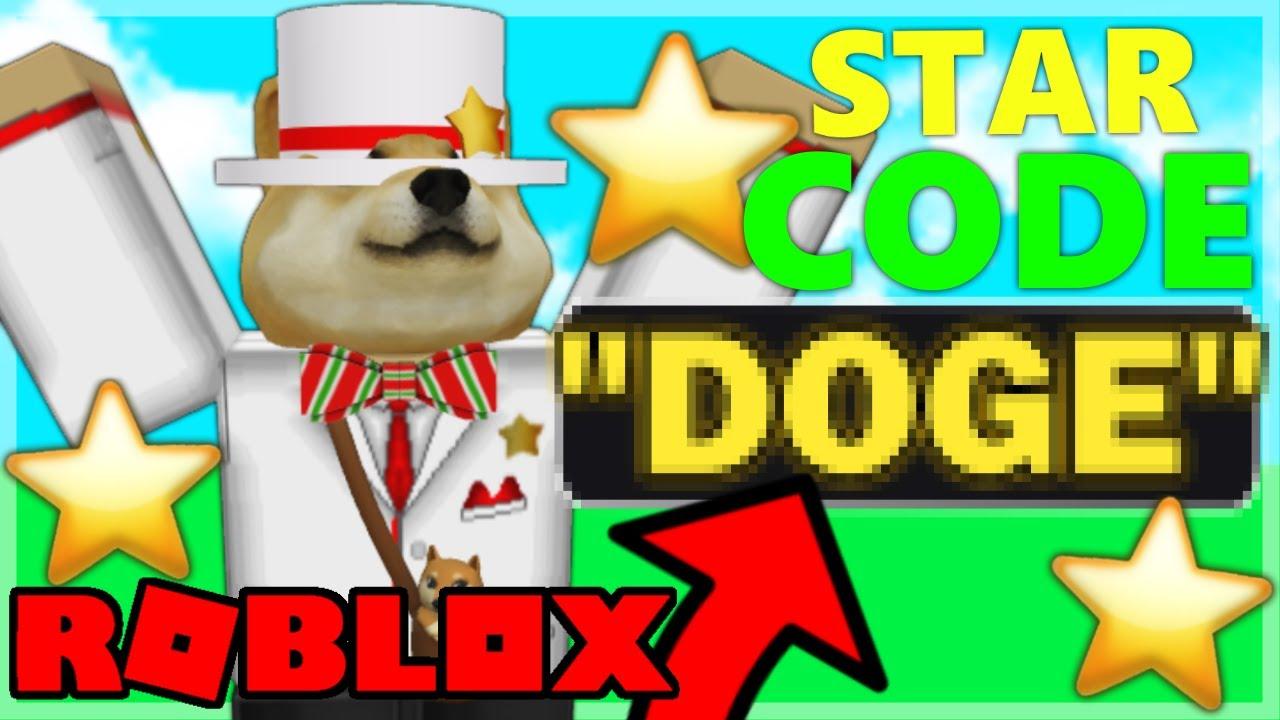 I GOT A STAR CODE IN ROBLOX!
