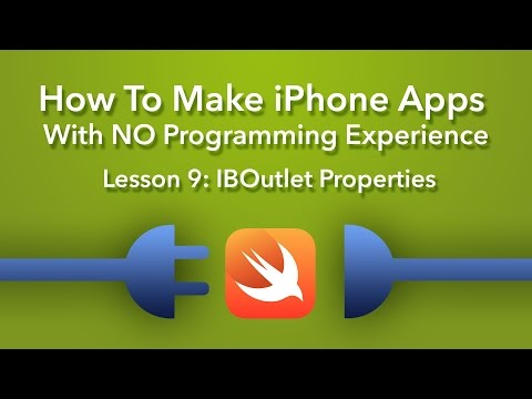 How To Make an App - Ep 9 - Swift IBOutlet Properties