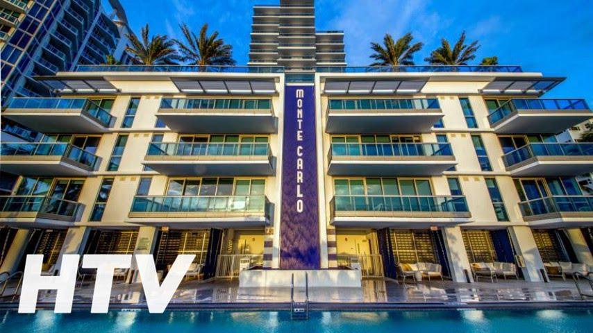 Mare Azur Miami Luxury Apartments By Monte Carlo Apart Hotel En Beach You