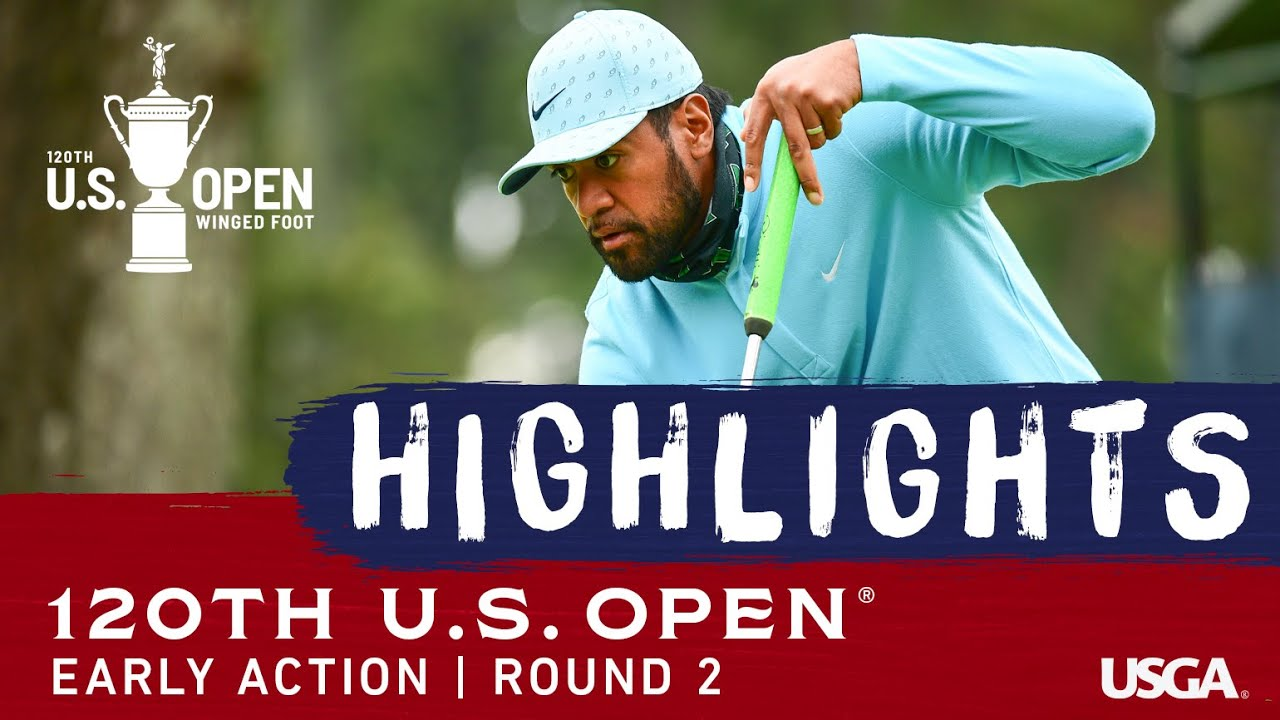 2020 U.S. Open Highlights, Round 2: Morning Action at Winged Foot