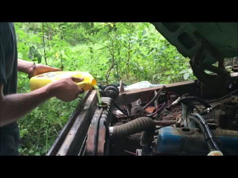68 F100 Revival (20 Years Forgotten in the Woods) PART 2 - First REAL Start!!! Grassroots Roadkill