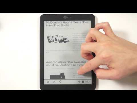 Inkbook 8 Android e-Reader Unboxing