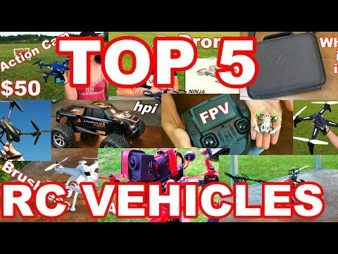 TOP 5 BEST RC Vehicles of May 2017 Drones & More – TheRcSaylors