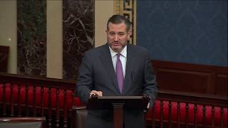 Sen. Cruz Delivers Remarks on the Senate Floor on the Nord Stream 2 Pipeline