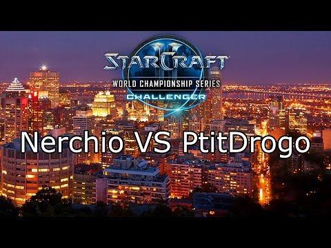 Nerchio VS PtitDrogo - WCS Montreal 2017 - EU Qualifier