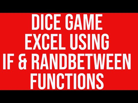 Dice Game in MS Excel – Excel VBA Training Online