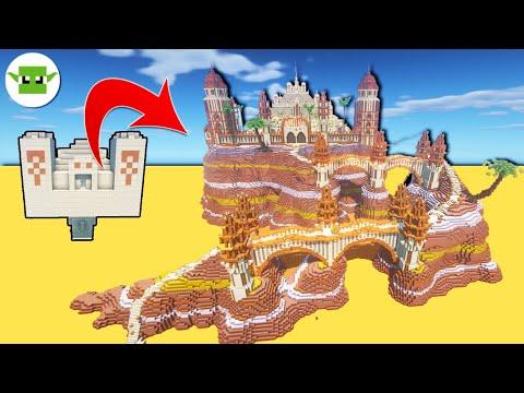 Minecraft Desert Temple Transformation | 7 Upgrades In Minecraft