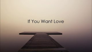 NF // If You Want Love Lyric Video thumbnail