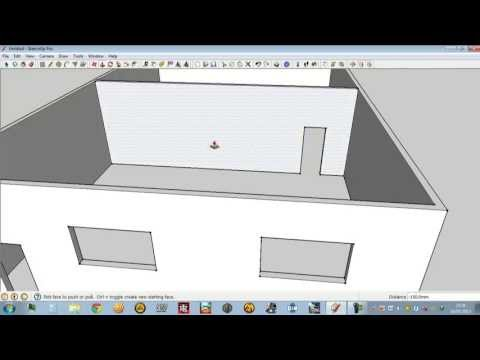 Tutorial Google Sketchup LENGKAP untuk Pemula Membuat Rumah Sederhana