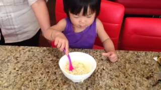 Vy Vy eating Maggi noodles Thumbnail