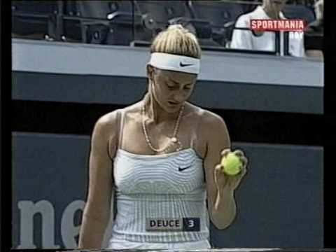 2000 US Open  R4 Anke Huber vs  Mary Pierce