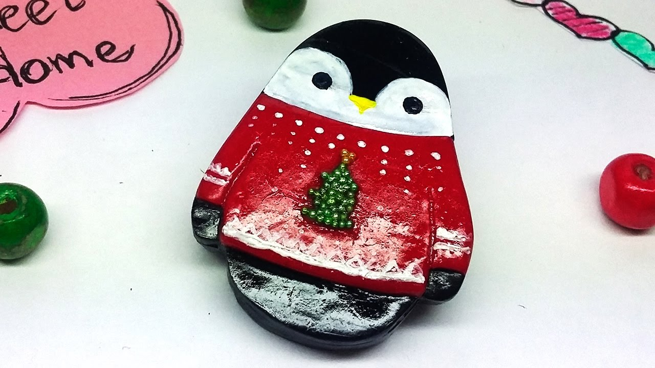 original com pickle by brooch ginger notonthehighstreet wooden penguin product gingerpickle