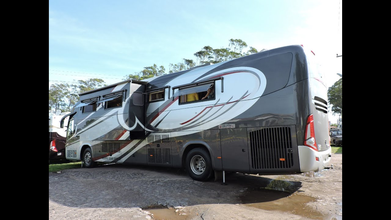 Motorhome Scania K 360, Vettura 2013.