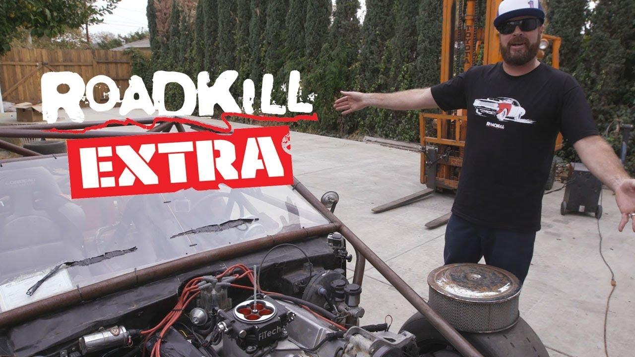 Finnegan Updates You on the Vette Kart - Roadkill Extra