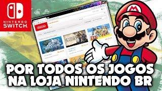 Petição para ter TODOS os jogos na Loja Nintendo brasileira