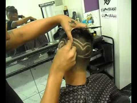 SALAO DO BELINHO,tecnicas para fazer desenho no cabelo