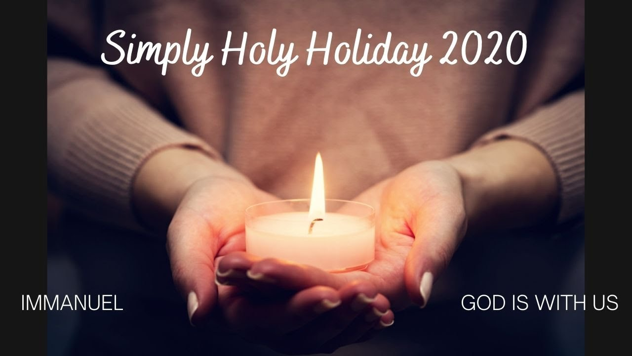 Simply Holy Holiday 2020