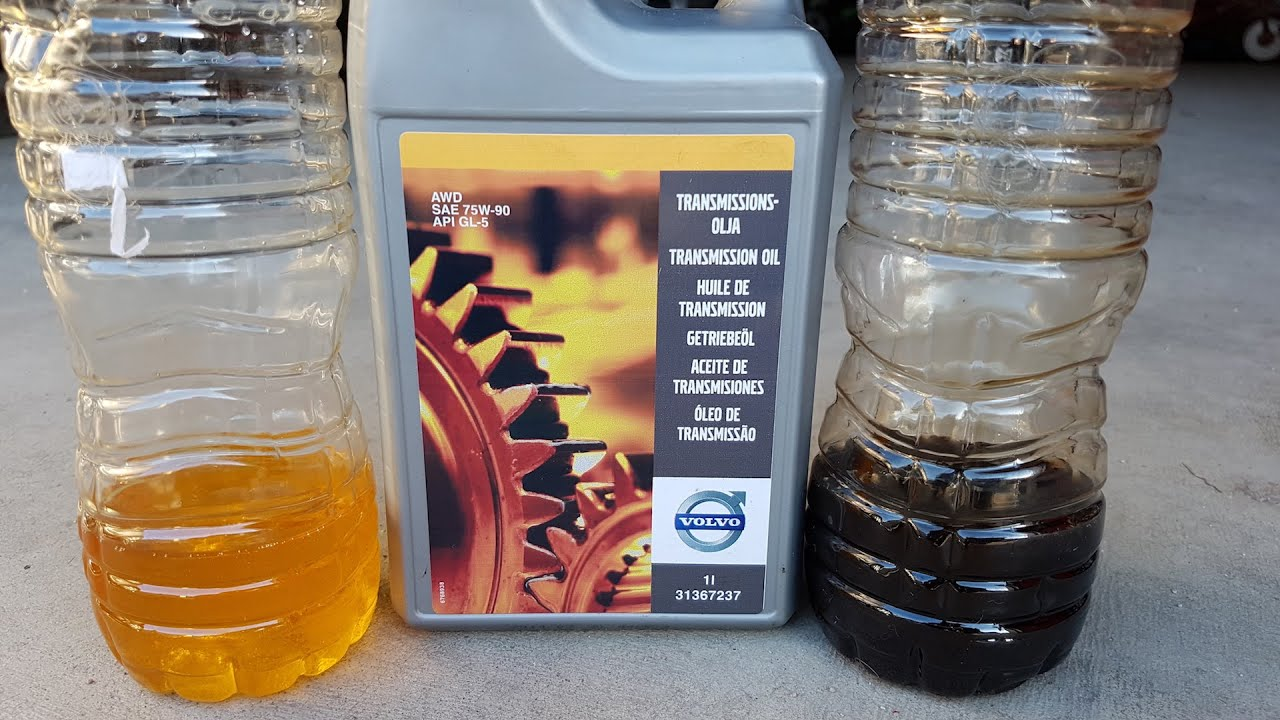 Volvo Angle/Bevel Gear oil change. - YouTube