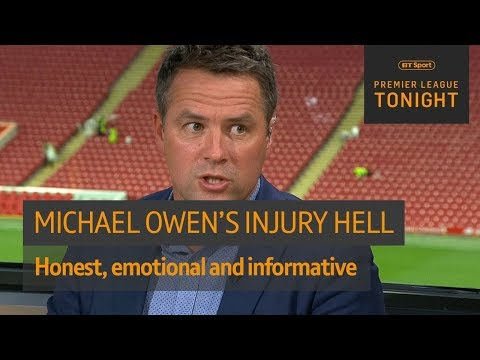 Honest and emotional Michael Owen on how he went from Ballon d'Or winner to Stoke's bench