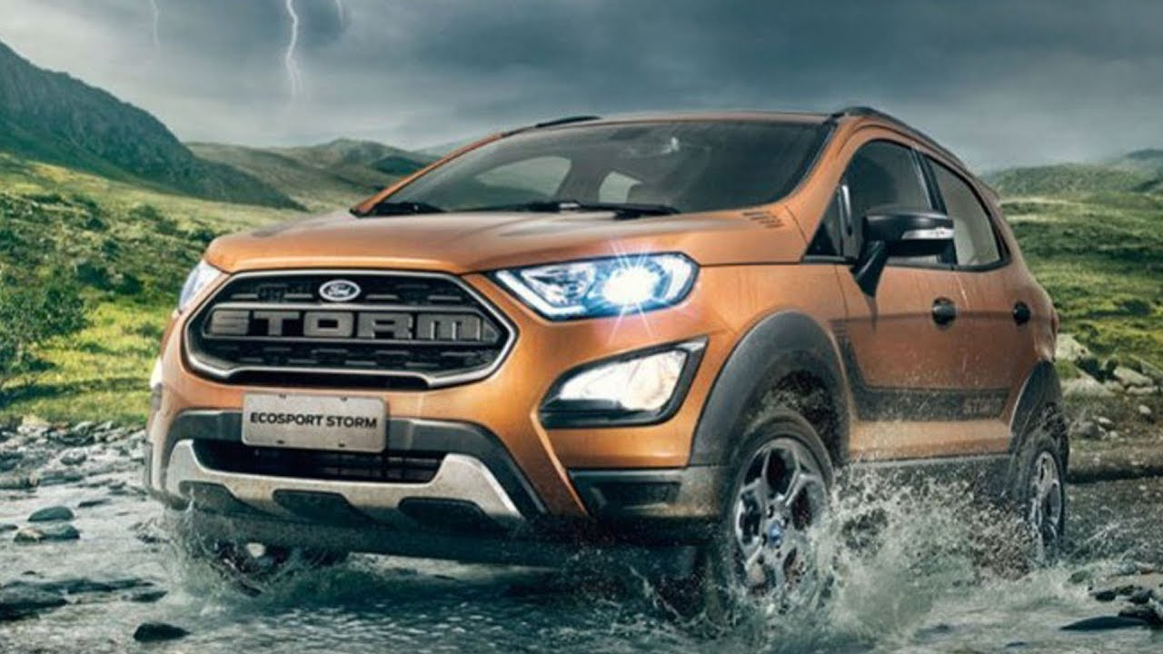 Ford Ecosport Storm Officially Revealed Youtube