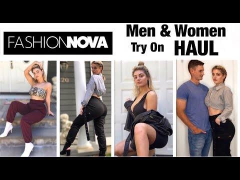 Fashion Nova MEN & WOMEN Try On Haul 2018!