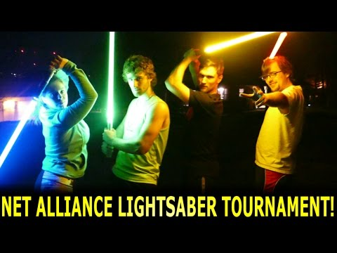Lightsaber Tournament with the NET Alliance SQUAD!