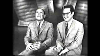 JOHNNY MERCER SINGS a MEDLEY of his HITS w/ Steve Allen
