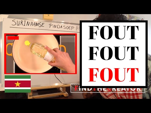 FOUT! - Surinaamse Pindasoep Recept – Omu Kra
