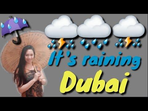 IT'S RAINING IN DUBAI (October 5 2019)