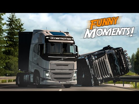 EP.#17 - Funny & Random Moments - Euro Truck Simulator 2