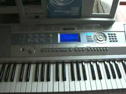 Yamaha dgx 200 portable grand electronic keyboard 2 of 2 for Yamaha dgx 200 portable grand keyboard