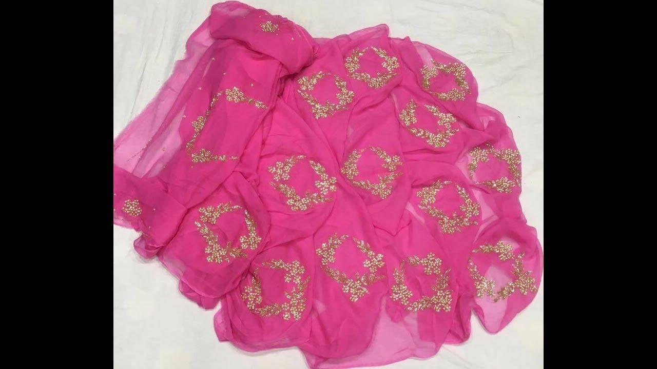 46dfde544e Latest Designer Chiffon Sarees || Plain Chiffon Sarees || Chiffon Sarees  Online Shopping