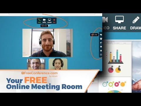 Freeconference.com Your Online Meeting Room