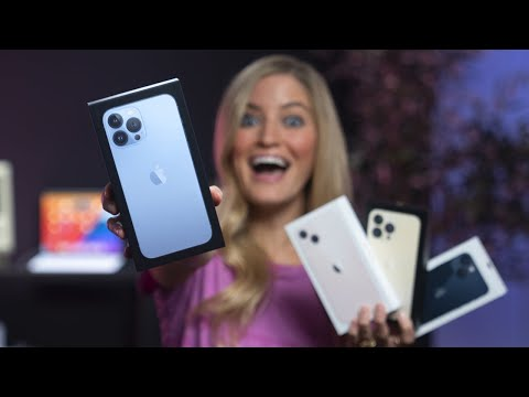 iPhone 13 | Unboxing all new models!