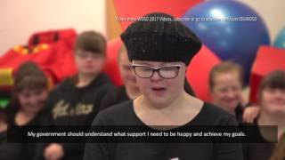 World Down Syndrome Day 2017 - POLAND - #MyVoiceMyCommunity