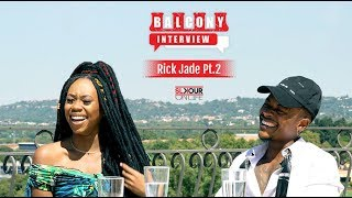 Rick Jade Discusses How They Met, Music To Come, & More On The Balcony Interview