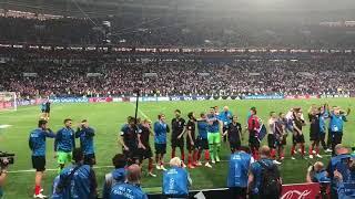 CROATIA IN THE FINAL WC2018! 🇭🇷 ⚽️ 👏 #HRVATSKA